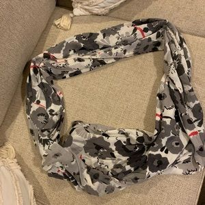 Anthropology infinity scarf! Goes with everything!